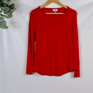 old navy ribbed long sleeve top